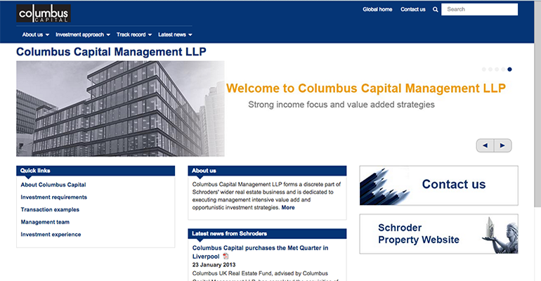 Columbus Capital Management